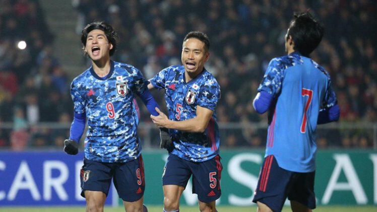 คลิปไฮไลท์ฟุตบอลโลก 2022 รอบคัดเลือก คีร์กิซสถาน 0-2 ญี่ปุ่น Kyrgyzstan 0-2 Japan