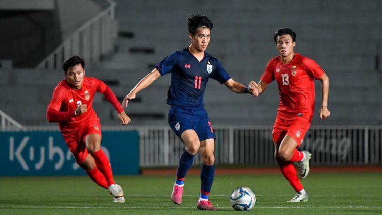 คลิปไฮไลท์ฟุตบอลอุ่นเครื่อง U23 ทีมชาติไทย 3-2 ทีมชาติเมียนมาร์ Thailand U23 3-2 Myanmar U23