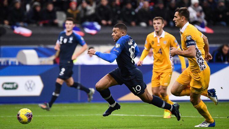 คลิปไฮไลท์ยูโร 2020 รอบคัดเลือก ฝรั่งเศส 2-1 มอลโดว่า France 2-1 Moldova