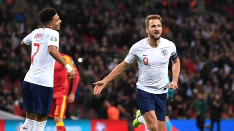 คลิปไฮไลท์ยูโร 2020 รอบคัดเลือก อังกฤษ 7-0 มอนเตเนโกร England 7-0 Montenegro