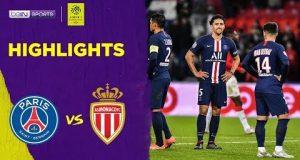 ไฮไลท์ฟุตบอล PSG 3-3 Monaco   Ligue 1 19/20 [Match Highlights]
