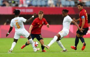 ไฮไลท์ สเปน พบ ไอวอรี่ โคสต์ ฟุตบอลโอลิมปิก 2020 รอบก่อนรองชนะเลิศ